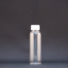 Plastic Clear Bottle: 100ml