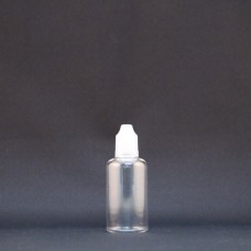 Plastic Clear Bottle: 50ml