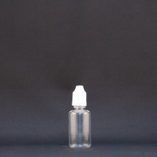 Plastic Clear Bottle: 30ml