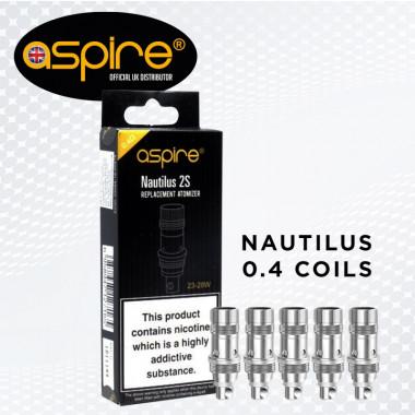 NAUTILUS 2S COIL 0.4ohms (Pack of 5)