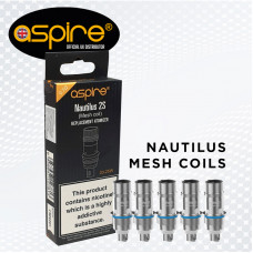 NAUTILUS 2S MESH COIL 0.7ohms (Pack of 5)