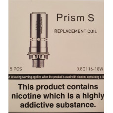 Prism S Coil 0.8ohms (Pack of 5)