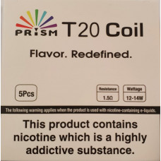 Prism T20 Coil 1.5ohms (Pack of 5)