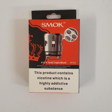 Smok V12 P-Tank Triple Mesh 0.15ohms (Pack of 3)